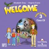 Welcome 3. Class Audio CD. (1 CD mp3). Beginner. Аудио CD для работы в классе
