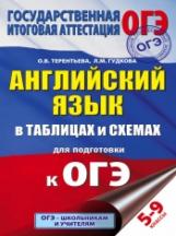 Гудкова. Английский язык в таблицах и схемах для подготовки к ОГЭ. (ФГОС). 5-9 класс