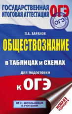 Баранов. Обществознание в таблицах и схемах для подготовки к ОГЭ. 5-9 кл.