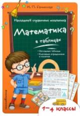 Бачинская. Математика в таблицах. Наглядный справочник школьника. 1-4 класс ФГОС