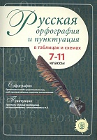 Русская орфография и пунктуация в таблицах и схемах. 7-11 классы (ФГОС)