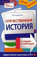 Кириллов. Отечественная история в схемах и таблицах. Наглядно и доступно. Эффект. подготовка к ЕГЭ.