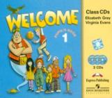 Welcome 1. Class Audio CDs. (set of 3). Beginner. Аудио CD для работы в классе