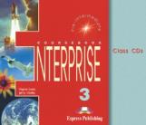Enterprise 3. Class Audio CDs. (set of 3). Pre-Intermediate. Аудио CD для работы в классе